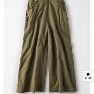 High waisted culottes